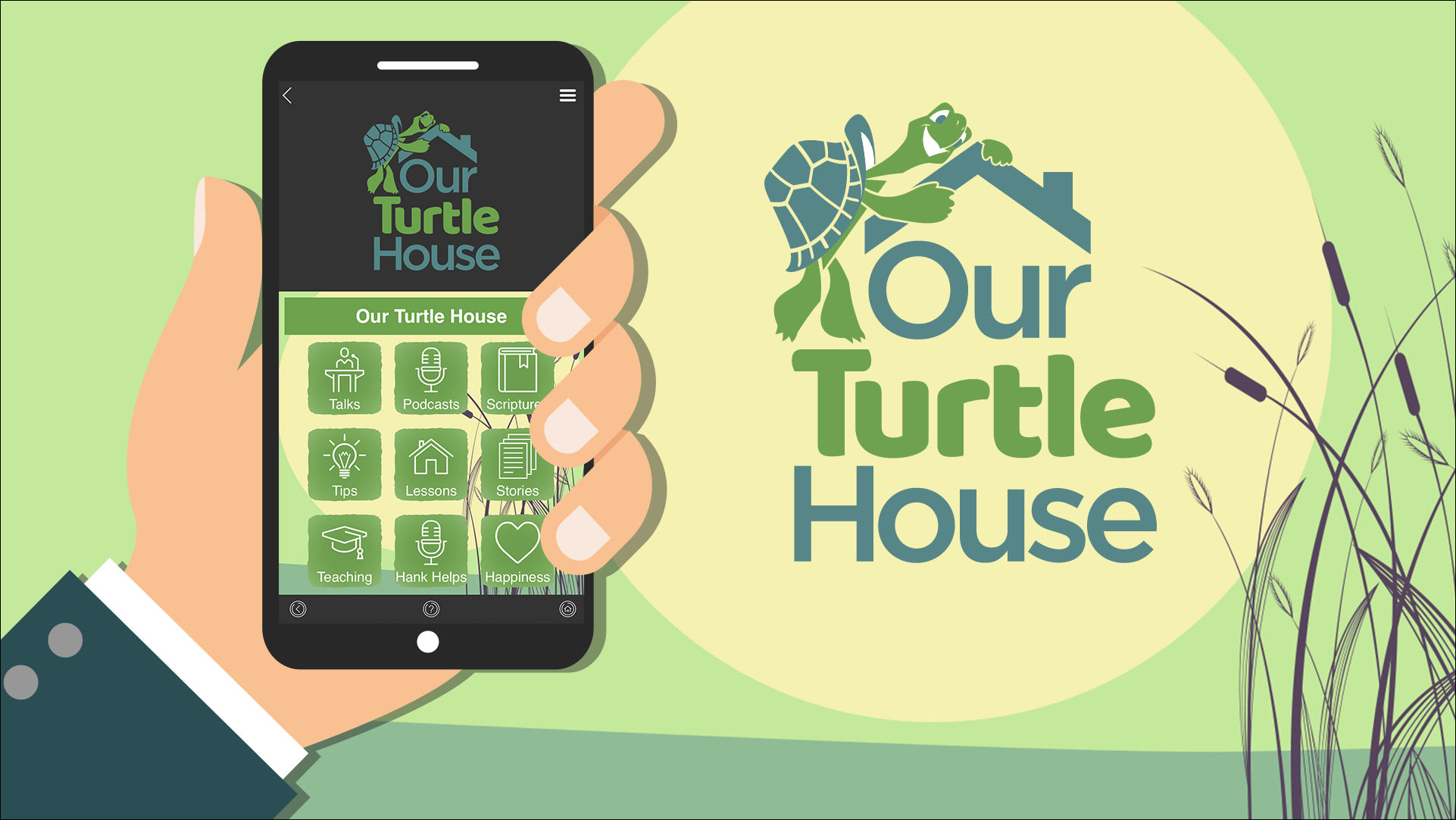 Our Turtle House Mobile App